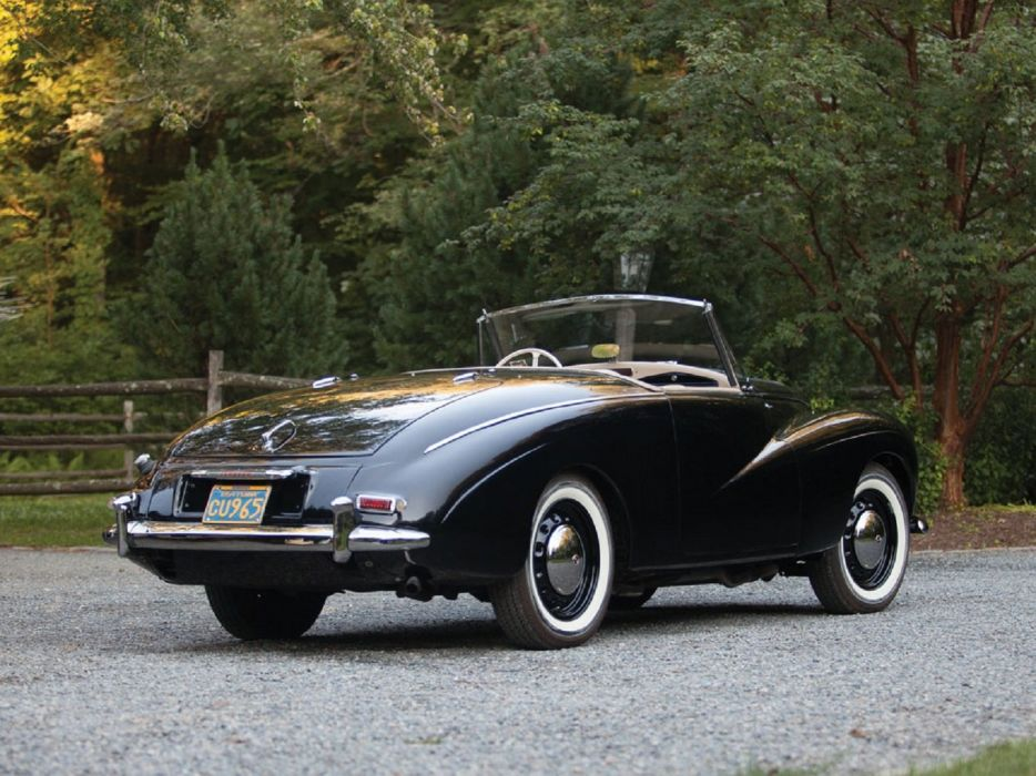 1954 Sunbeam-Talbot Alpine convertible cars convertible wallpaper