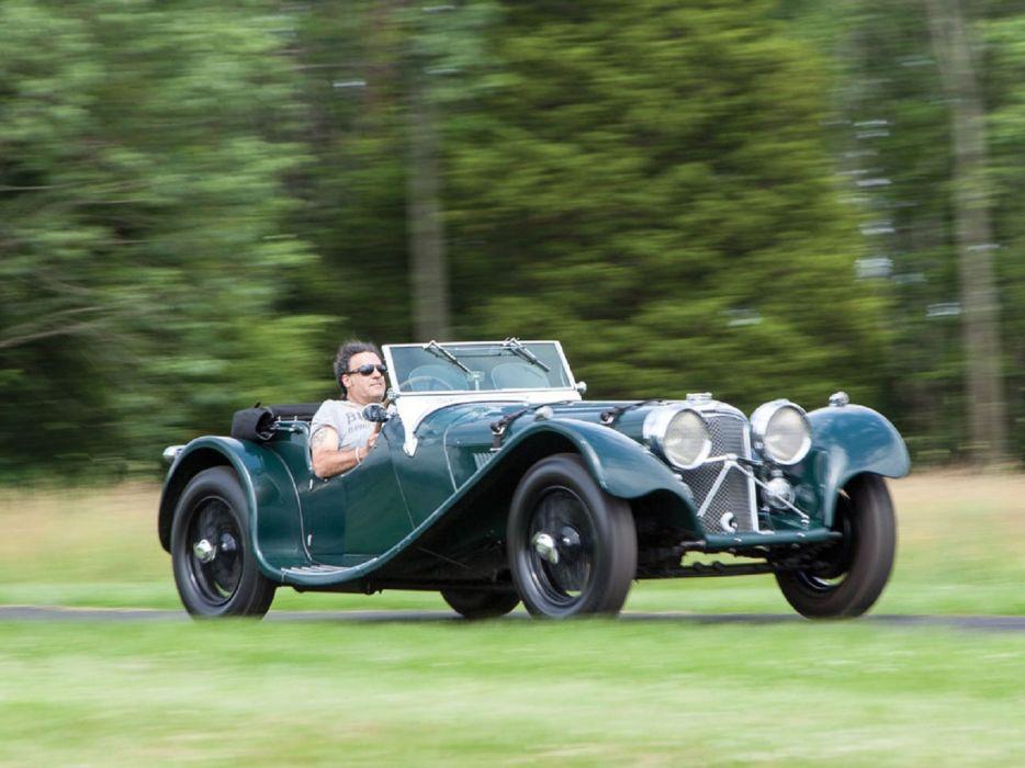 1938 SS-100 Jaguar Roadster cars classic wallpaper