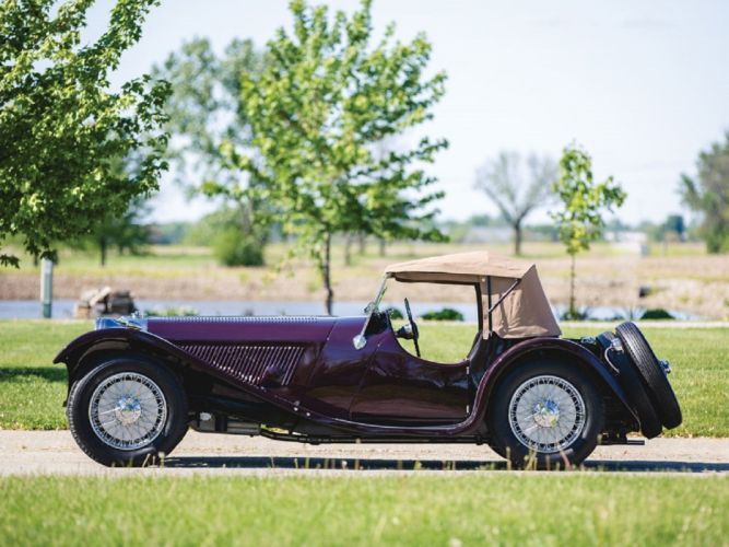 1937 SS-100 Jaguar Roadster cars classic wallpaper