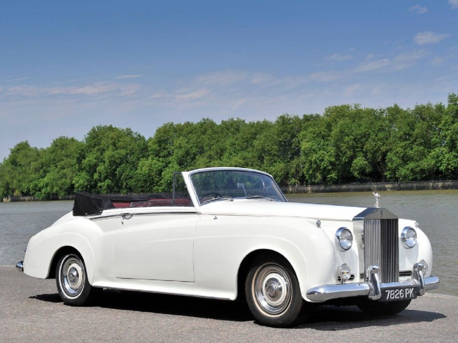 1959 Rolls-Royce Silver Cloud Drophead Coupe Adaptation Mulliner classic cars wallpaper