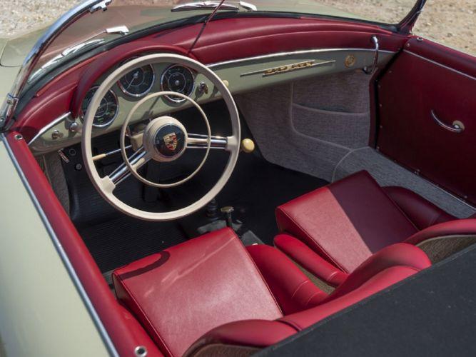 1957 Porsche 356-A 1600 Speedster Coupe cars classic wallpaper