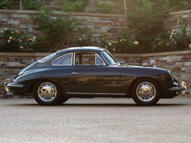 1964 Porsche 356-C Carrera-2 Coupe cars classic wallpaper