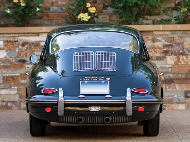 1964 Porsche 356-C Carrera-2 Coupe cars classic wallpaper
