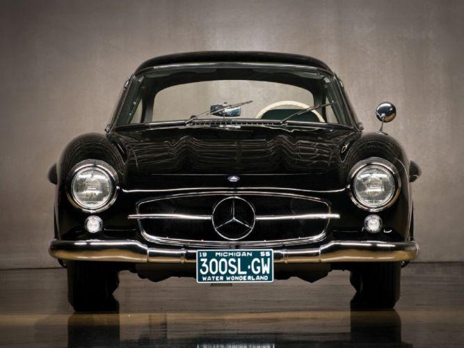 1954 Mercedes-Benz 300-SL Gullwing cars classic wallpaper