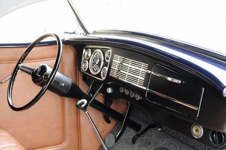 1936 Ford Roadster Hotrod Hot Rod Custom Old School USA -05 wallpaper