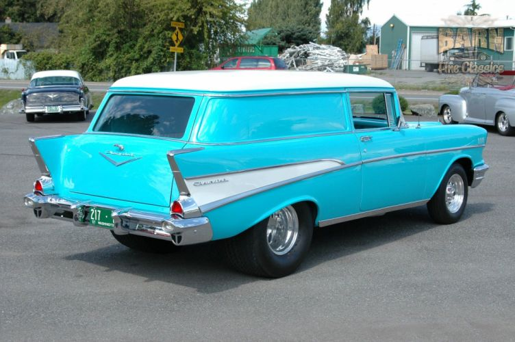 1957 Chevrolet Bel Air 210 Sedan Delivery Pro Street Drag Rodder Hot Rod USA 1500x1000-05 wallpaper