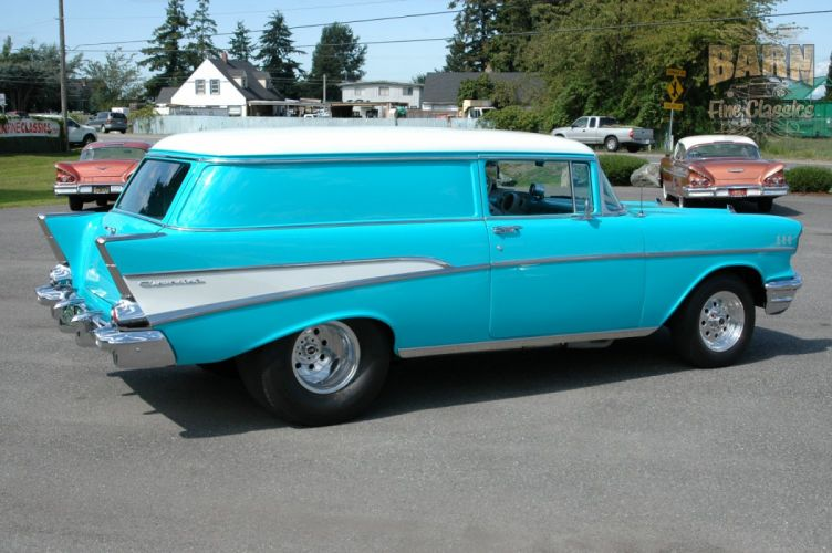 1957 Chevrolet Bel Air 210 Sedan Delivery Pro Street Drag Rodder Hot Rod USA 1500x1000-06 wallpaper