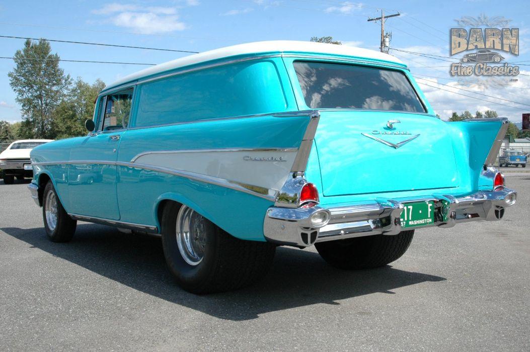 1957 Chevrolet Bel Air 210 Sedan Delivery Pro Street Drag Rodder Hot Rod USA 1500x1000-16 wallpaper