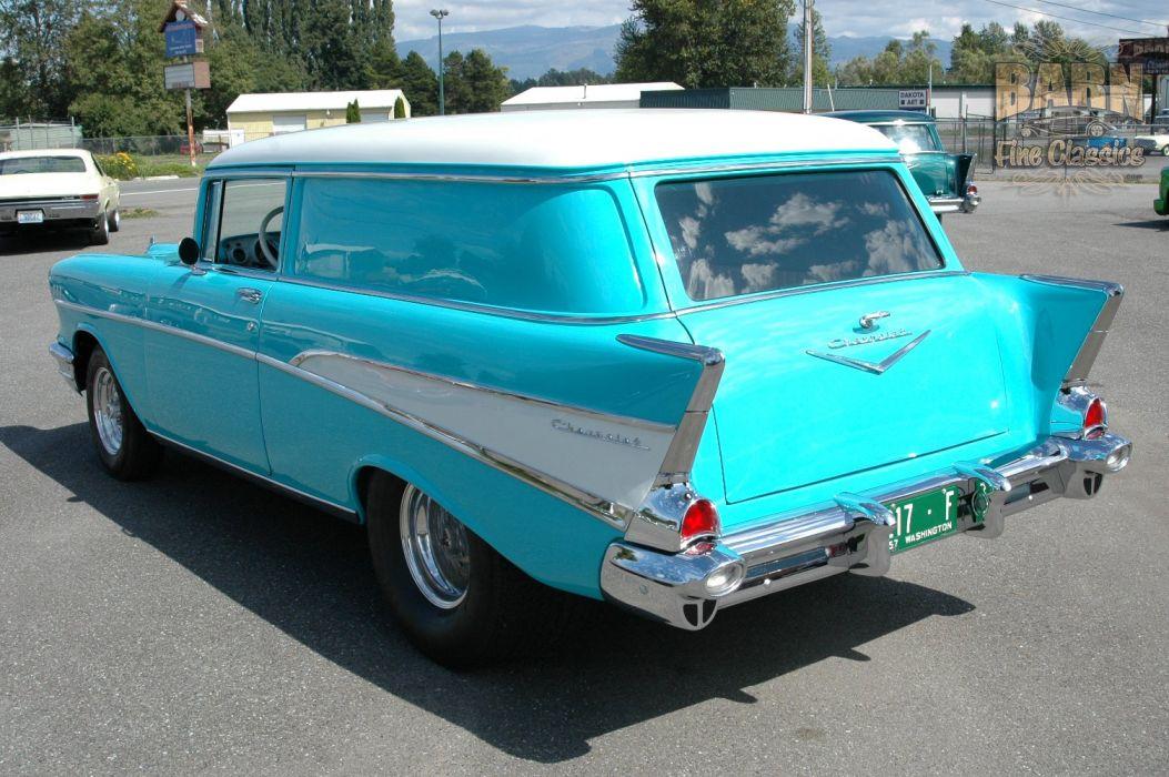 1957 Chevrolet Bel Air 210 Sedan Delivery Pro Street Drag Rodder Hot Rod USA 1500x1000-15 wallpaper