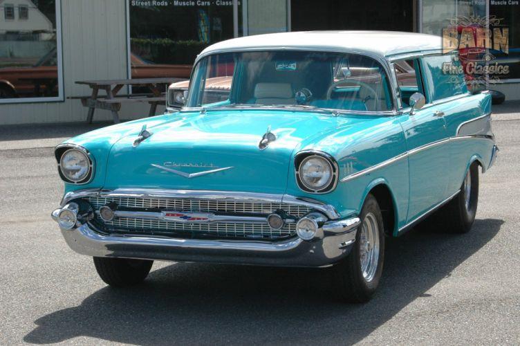 1957 Chevrolet Bel Air 210 Sedan Delivery Pro Street Drag Rodder Hot Rod USA 1500x1000-22 wallpaper