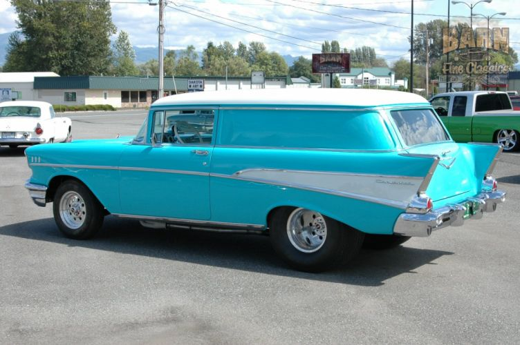 1957 Chevrolet Bel Air 210 Sedan Delivery Pro Street Drag Rodder Hot Rod USA 1500x1000-26 wallpaper