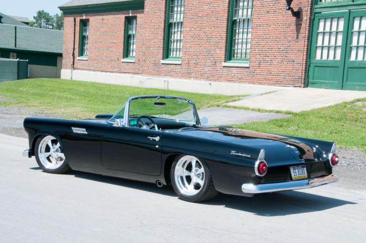 1957 Ford Thunderbird Super Street Rodder Cruiser Hot USA -02 wallpaper