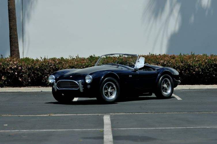 1963 Shelby 289 Cobra Roadster Sport Classic Old USA -01 wallpaper