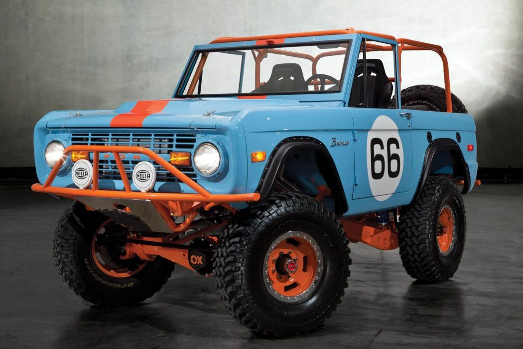 1966 Ford Bronco Heritage Off Road USA -01 wallpaper