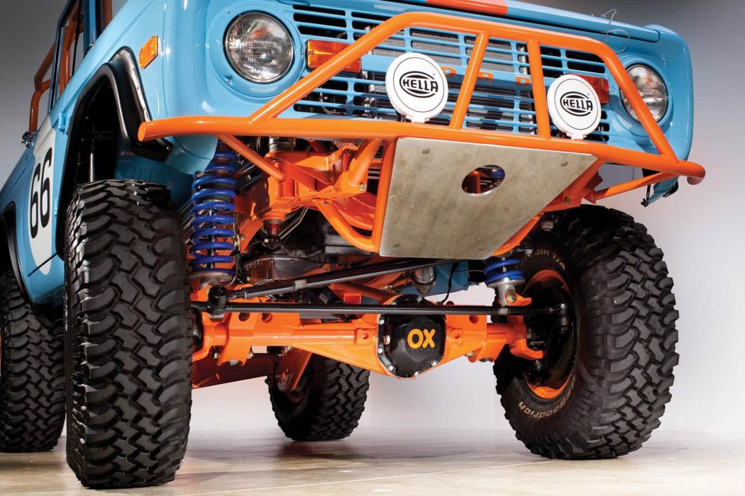 1966 Ford Bronco Heritage Off Road USA -04 wallpaper