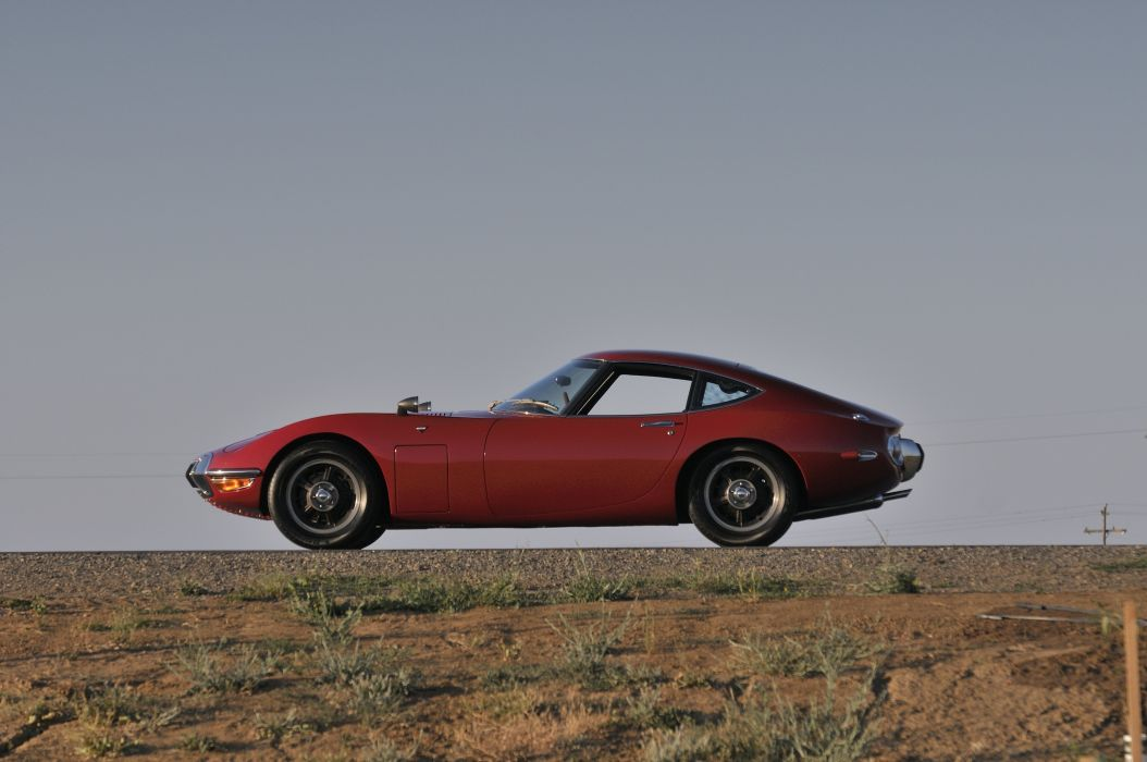 1967 Toyota 2000GT Sport Classic Old Exotic Japan  02 Wallpaper