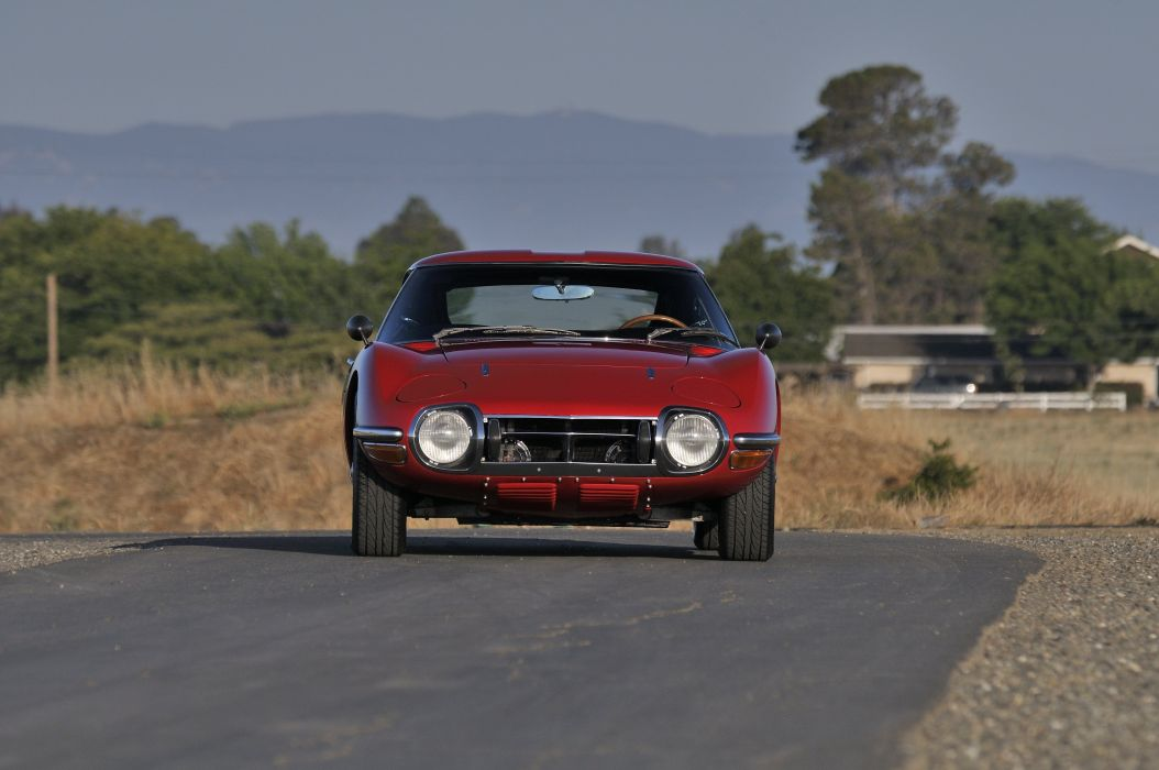 1967 Toyota 2000GT Sport Classic Old Exotic Japan -05 wallpaper
