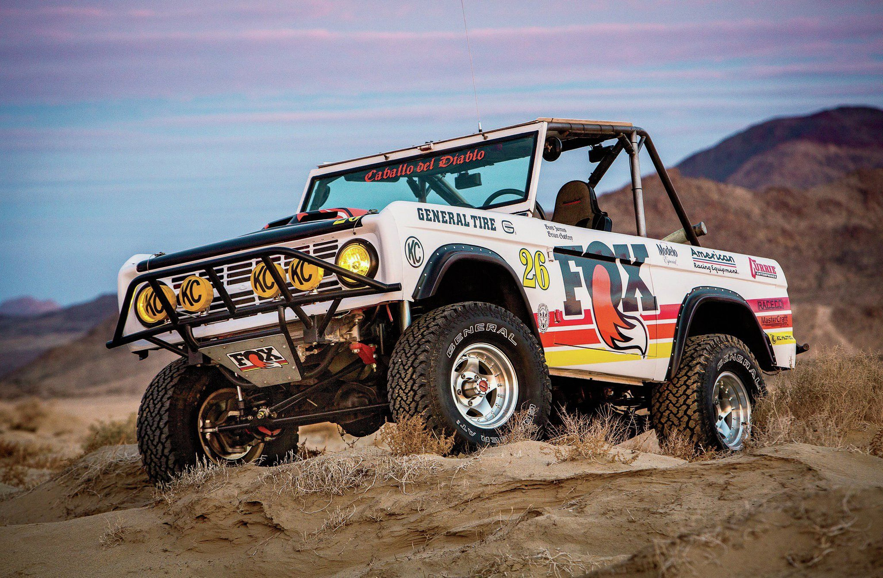 1968 Ford Bronco Off Road Race Car USA 3072x2010-01 ...