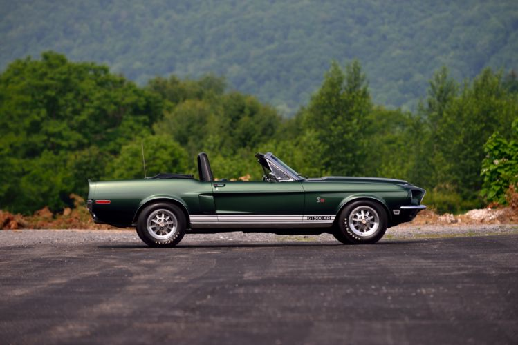 1968 Ford Mustang Shelby GT500 KR Convertible Muscle Classic Old Original USA -02 wallpaper