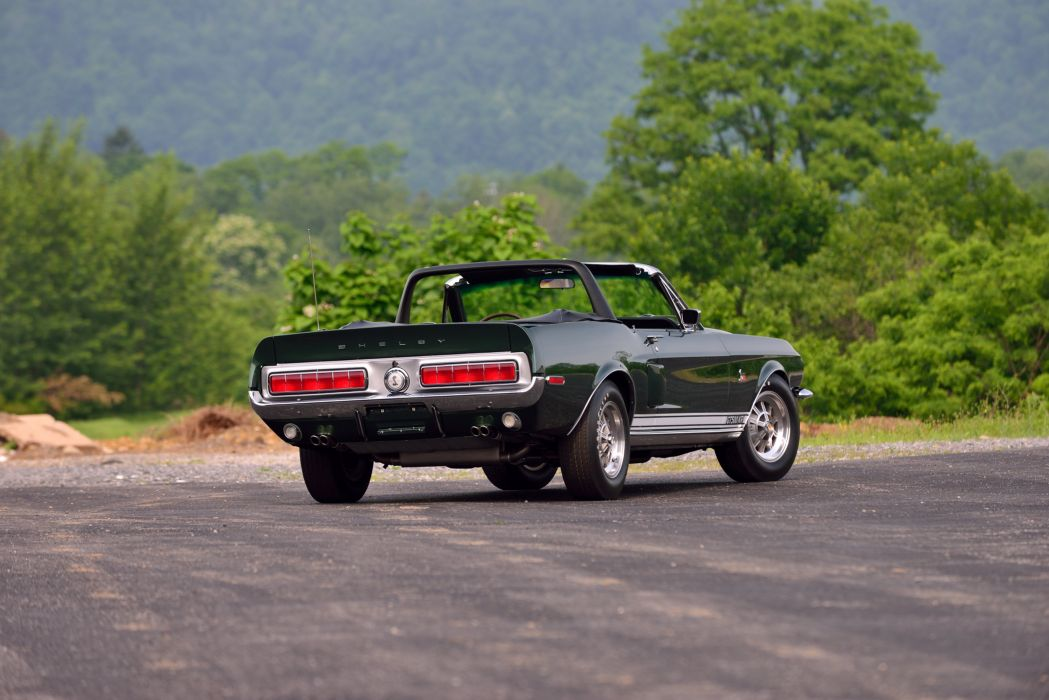 1968 Ford Mustang Shelby GT500 KR Convertible Muscle Classic Old Original USA -03 wallpaper