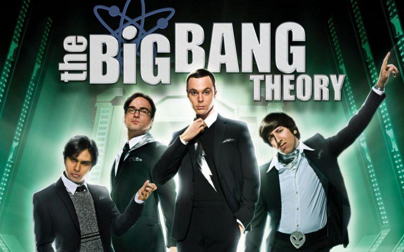 la teoria del big bang serie tv wallpaper