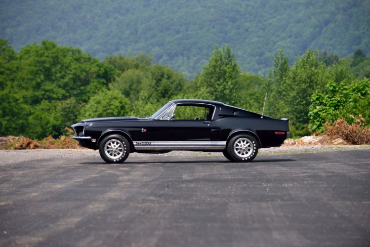 1968 Ford Mustang Shelby GT500 KR Fastback Muscle Classic Old Original USA -02 wallpaper