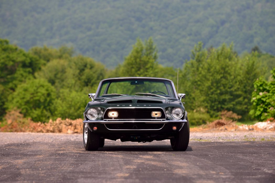 1968 Ford Mustang Shelby GT500 KR Convertible Muscle Classic Old Original USA -16 wallpaper