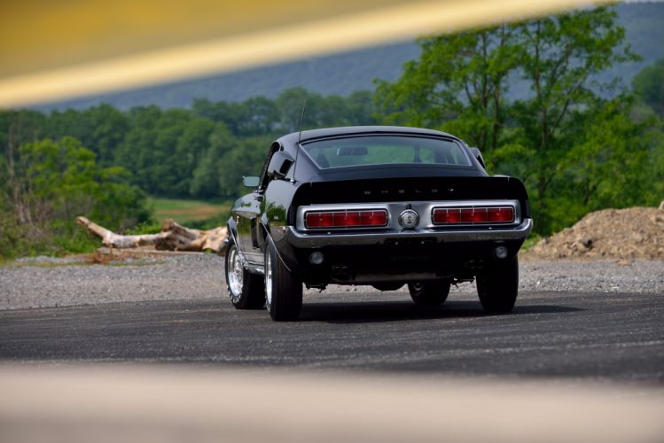 1968 Ford Mustang Shelby GT500 KR Fastback Muscle Classic Old Original USA -08 wallpaper