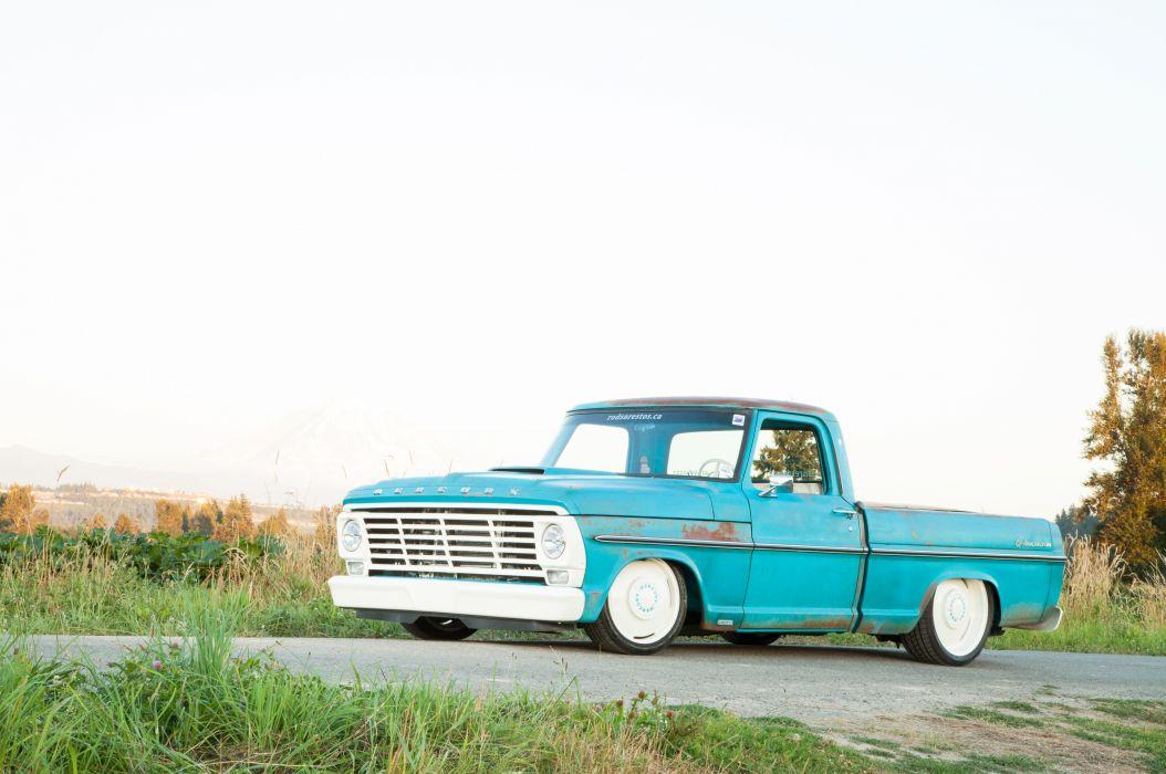 1968 Mercury Cyclone Pickup Custom Canadian -04 wallpaper