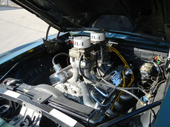 1969 Chevrolet Chevy Camaro ZL1 Green Prostock Pro Stock Drag Racer USA -09 wallpaper