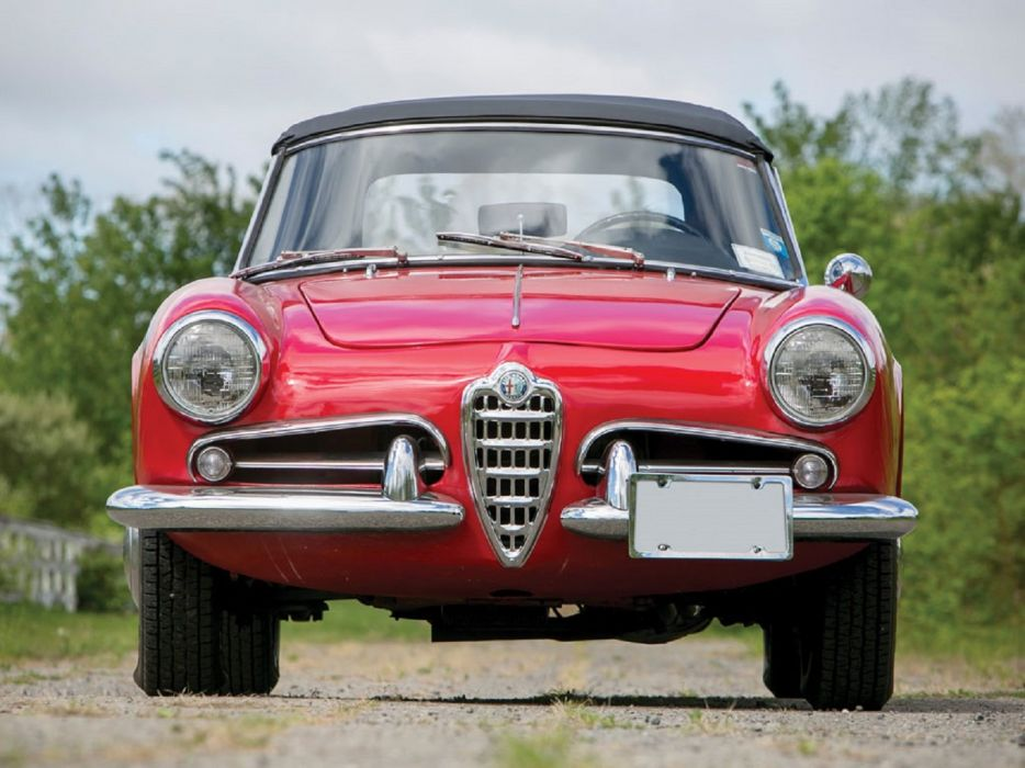 1962 Alfa Romeo Giulietta Spider classic cars wallpaper