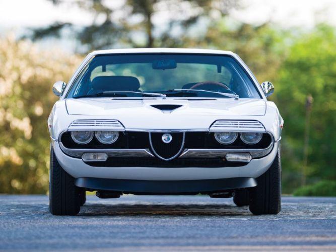 1973 Alfa Romeo Montreal classic cars wallpaper