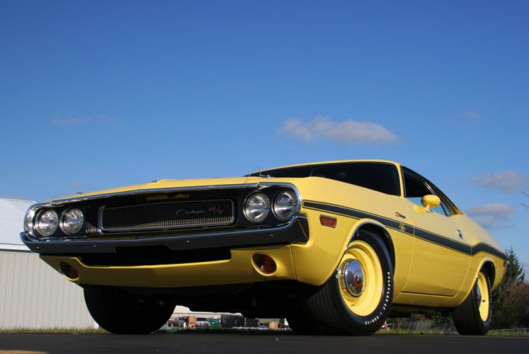 1970 Dodge Challenger RT Hemi Muscle Classic Old Original USA -07 wallpaper