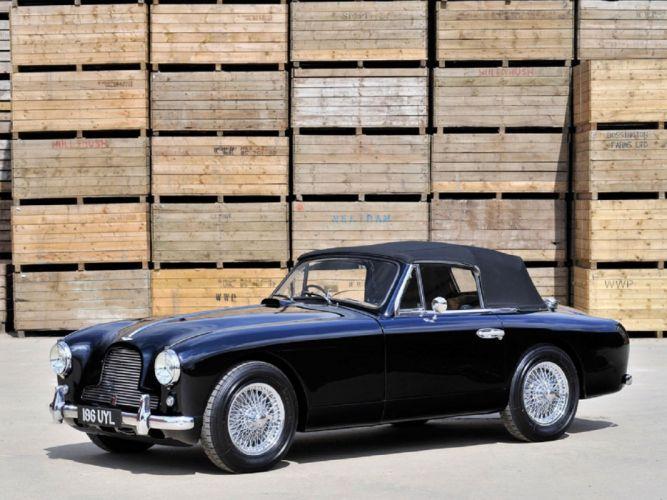 1954 Aston Martin DB2-4 Drophead Coupe classic cars wallpaper