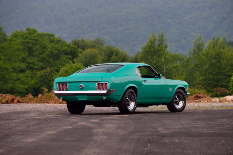1970 Ford Mustang Boss 429 Muscle Classic Old Original USA -03 wallpaper
