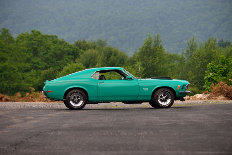 1970 Ford Mustang Boss 429 Muscle Classic Old Original USA -02 wallpaper