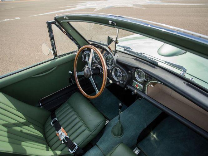 1958 Aston Martin DB2-4 Mk-III Drophead Coupe classic cars wallpaper