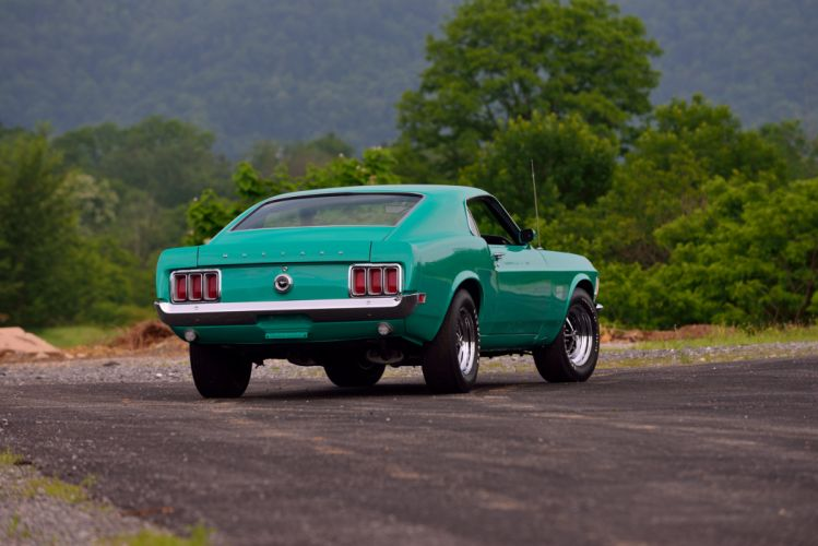 1970 Ford Mustang Boss 429 Muscle Classic Old Original USA -14 wallpaper