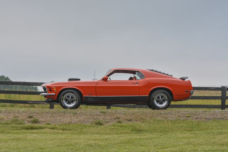 1970 Ford Mustang Mach-1 Fastback Muscle Classic Old Original USA -02 wallpaper