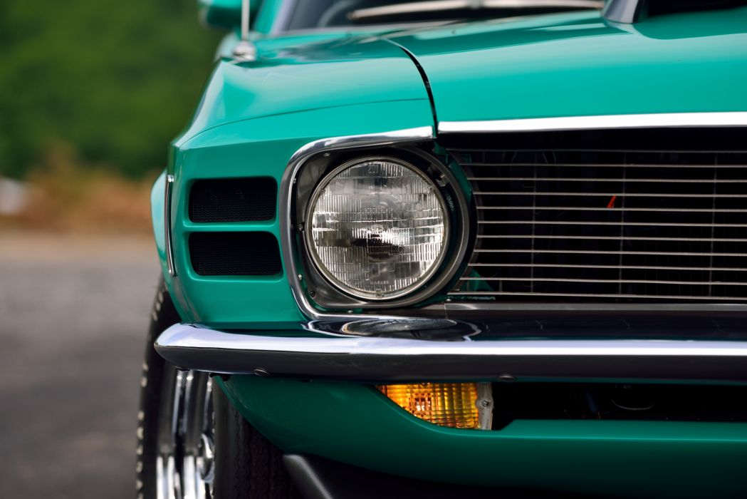 1970 Ford Mustang Boss 429 Muscle Classic Old Original USA -17 wallpaper