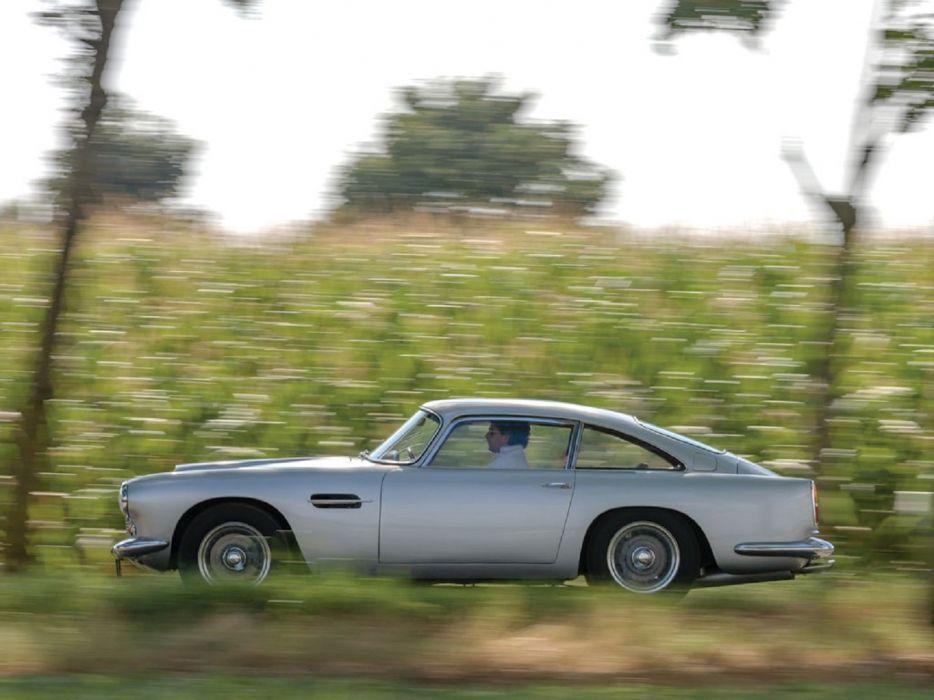 1960 Aston Martin DB4 Series-II classic cars wallpaper