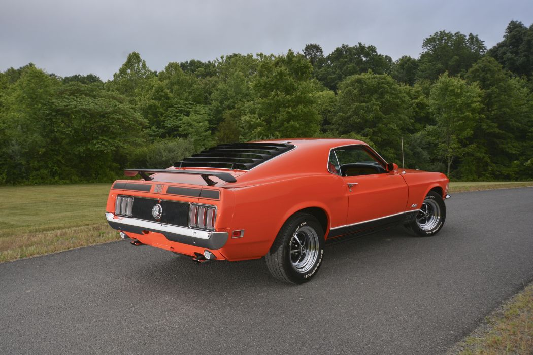 1970 Ford Mustang Mach-1 Fastback Muscle Classic Old Original USA -03 wallpaper