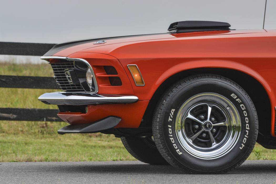 1970 Ford Mustang Mach-1 Fastback Muscle Classic Old Original USA -07 wallpaper
