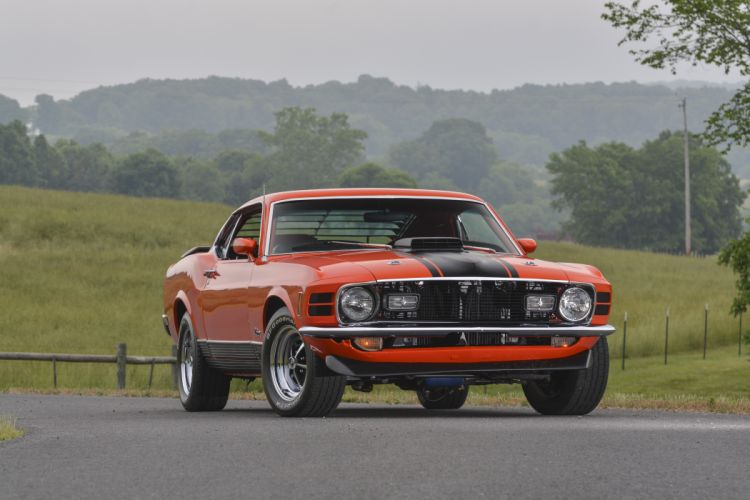 1970 Ford Mustang Mach-1 Fastback Muscle Classic Old Original USA -09 wallpaper