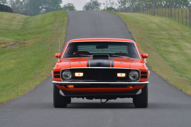 1970 Ford Mustang Mach-1 Fastback Muscle Classic Old Original USA -13 wallpaper