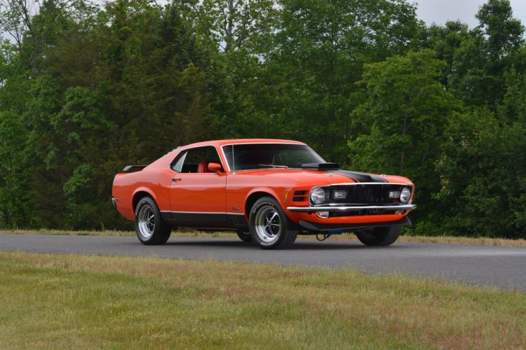 1970 Ford Mustang Mach-1 Fastback Muscle Classic Old Original USA -12 wallpaper
