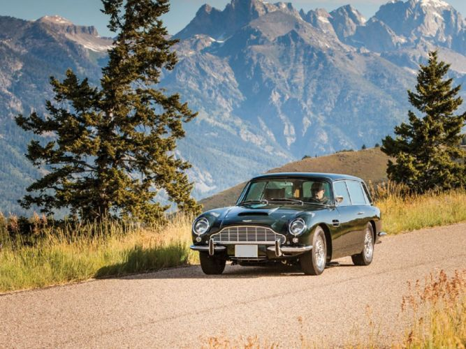 1967 Aston Martin DB6 Mk-I Shooting Brake classic cars wallpaper