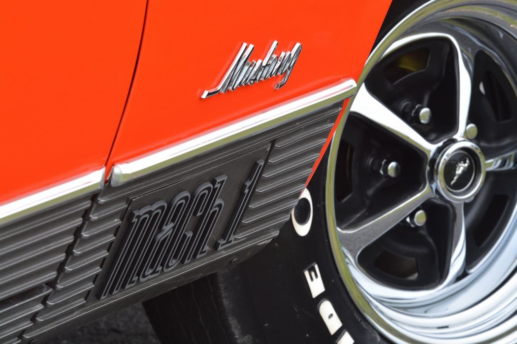 1970 Ford Mustang Mach-1 Fastback Muscle Classic Old Original USA -23 wallpaper