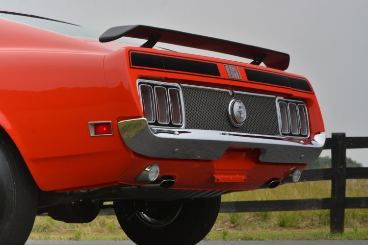 1970 Ford Mustang Mach-1 Fastback Muscle Classic Old Original USA -27 wallpaper