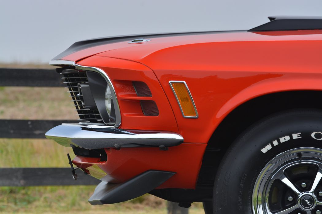 1970 Ford Mustang Mach-1 Fastback Muscle Classic Old Original USA -28 wallpaper